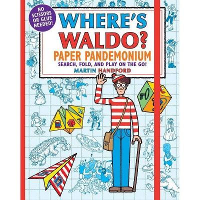 Where's Waldo? Paper Pandemonium - by  Martin Handford (Paperback)