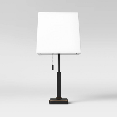 Square Stick with Outlet Table Lamps - Threshold™