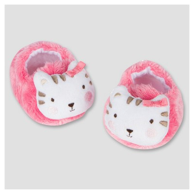 Baby Girls' Velboa Bootie - Kitty 0-6M - Gerber®