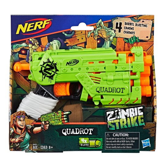 NERF Zombie Strike Quadrot image number null