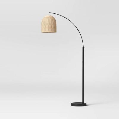 Addison Rattan Floor Lamp Natural - Threshold™