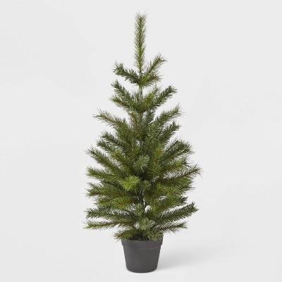 3ft Unlit Douglas Fir Potted Artificial Christmas Tree - Wondershop™