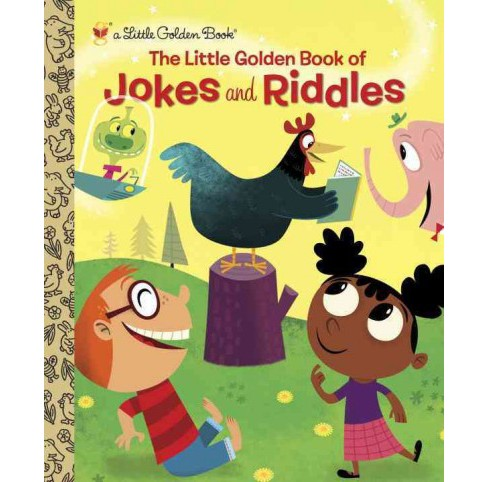 Little Golden Book of Jokes and Riddles (Hardcover) (Peggy Brown) - image 1 of 1