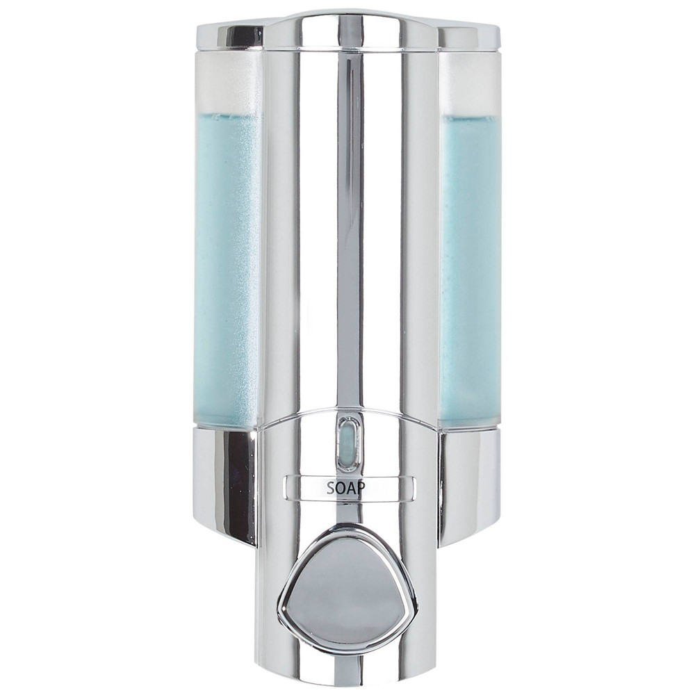 Image of Aviva Dispenser Chrome - Better Living Products