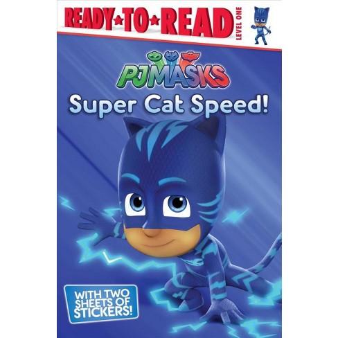 Super Cat Speed! - (Pj Masks) (Paperback) - image 1 of 1
