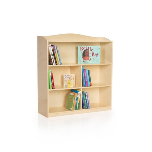 Guidecraft Single Sided Bookcase 36 inches Height - Natural - image 1 of 4