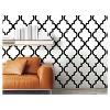 Devine Color Cable Stitch Peel & Stick Wallpaper Black/White - image 3 of 4