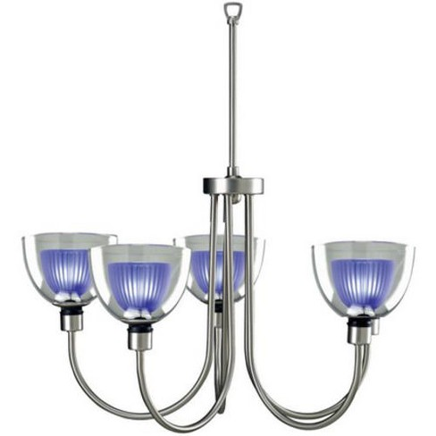 Lite Source LS-10755 5 Light Up Lighting Chandelier from the Brella Collection - image 1 of 1