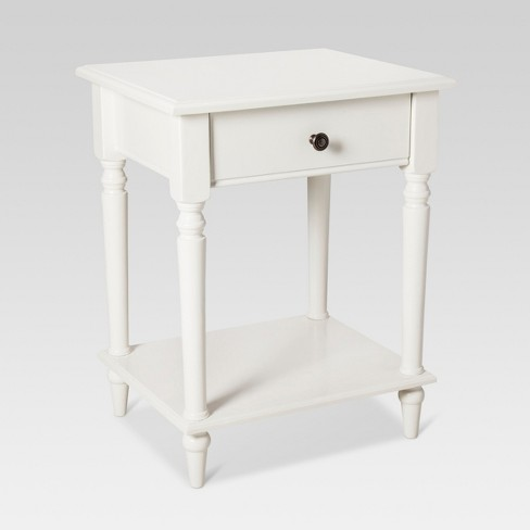 e4f545a4f45 Margate End Table White - Threshold™   Target
