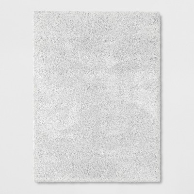 7'X10' Solid Eyelash Woven Shag Rug Cream - Project 62™