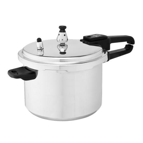 IMUSA 4.2qt Aluminum Stovetop Pressure Cooker, Silver