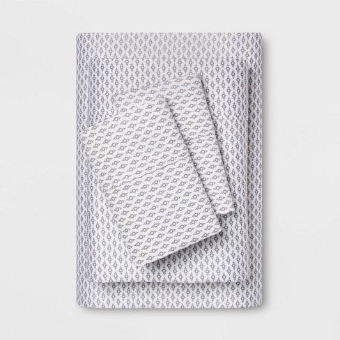 400 Thread Count Printed Performance Sheet Set - Threshold™ - image 1 of 4