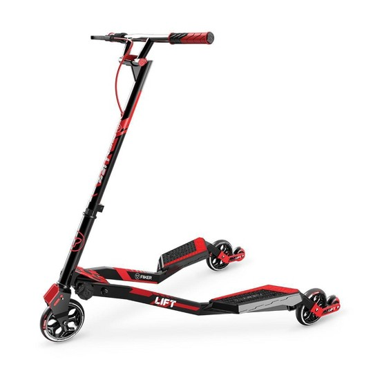 Y-Volution Y Fliker Lift Kid's Scooter - Red image number null