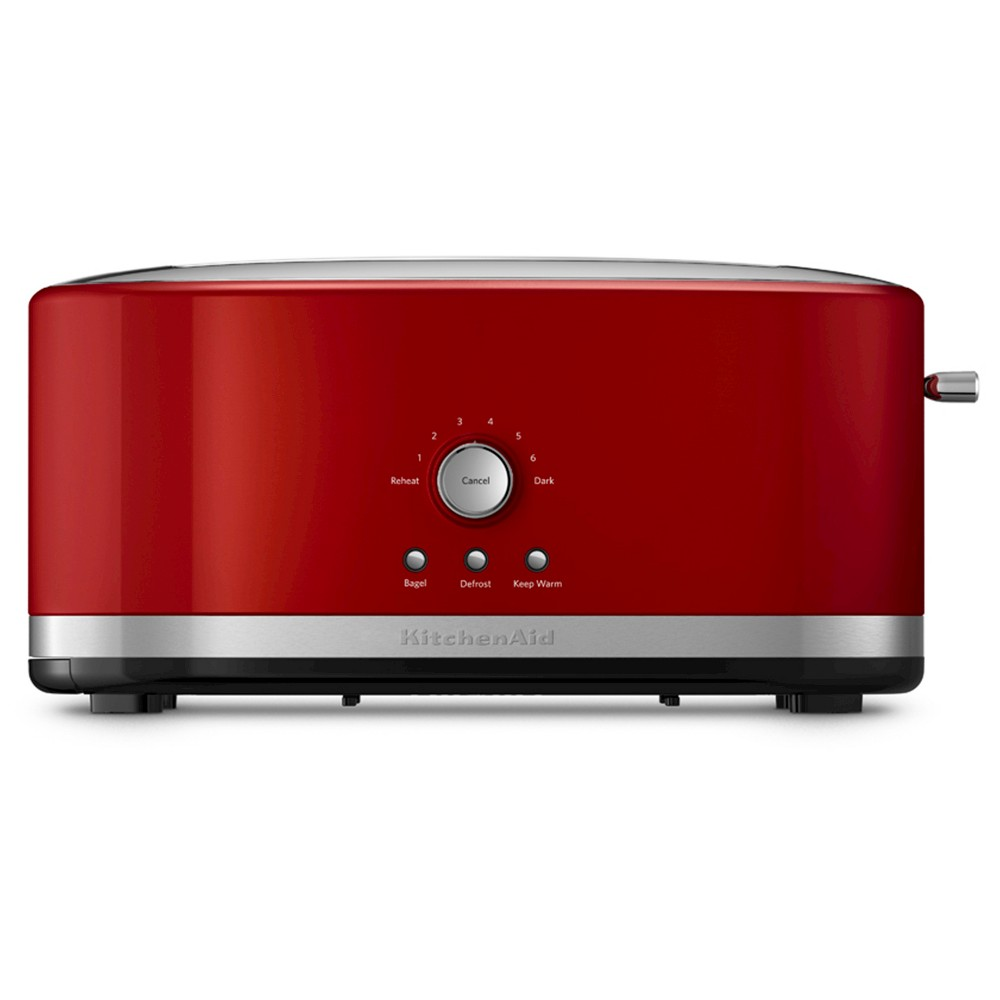 KitchenAid 4-Slice Long Slot Toaster with High Lift Lever – KMT4116, Red 50286124