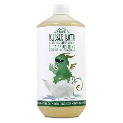 Alaffia Everyday Shea Baby Bubble Bath Eucalyptus Mint - 32oz