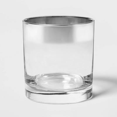 11oz Glass Short Tumbler Metallic - Project 62™