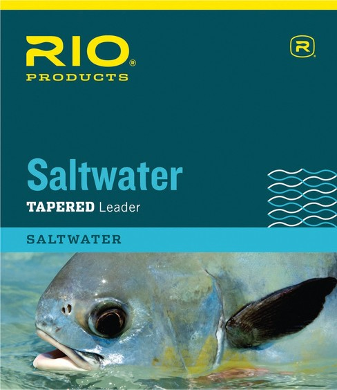 RIO Saltwater Tapered General Purpose Nylon Fly Fishing Leaders - image 1 of 1