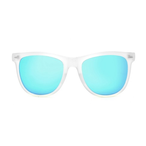 cf9609b5d Women's Surf Sunglasses with Blue Mirror Lens - Wild Fable™ Medium Clear