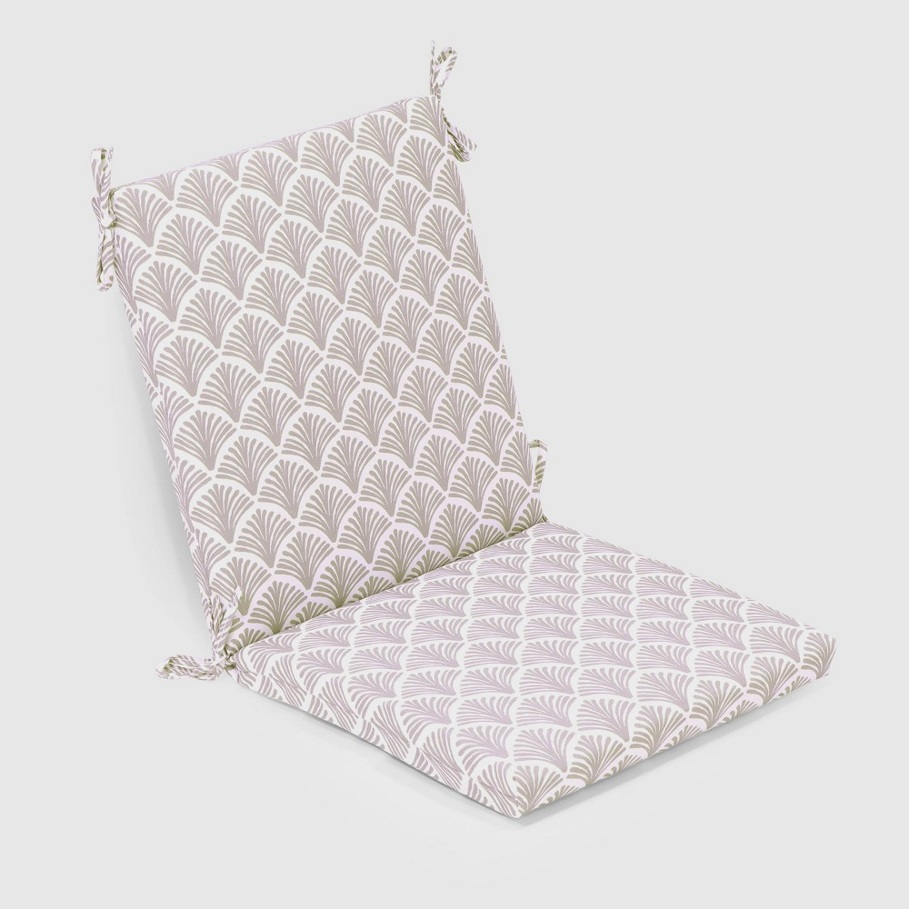Fan Outdoor Chair Cushion Taupe (Brown) - Threshold