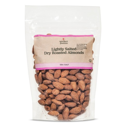 Lightly Salted Dry Roasted Almonds 10oz - Archer Farms™ - image 1 of 1