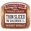 Pepperidge Farm Whole Grain Honey Wheat Thin Sliced Bread - 22oz - image 3 of 4