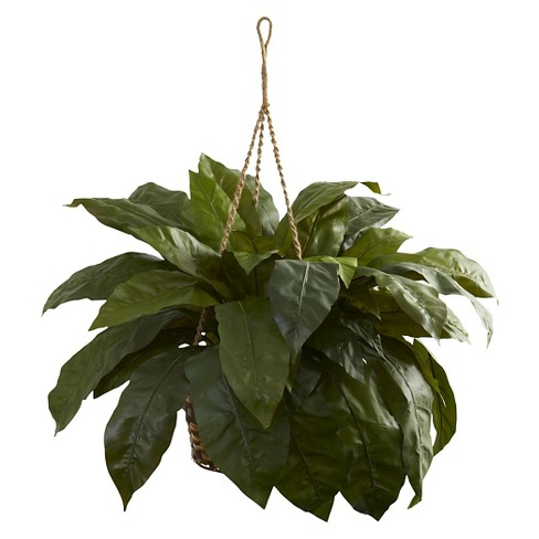 Nearly Natural Double Giant Birds nest Hanging Basket - image 1 of 3