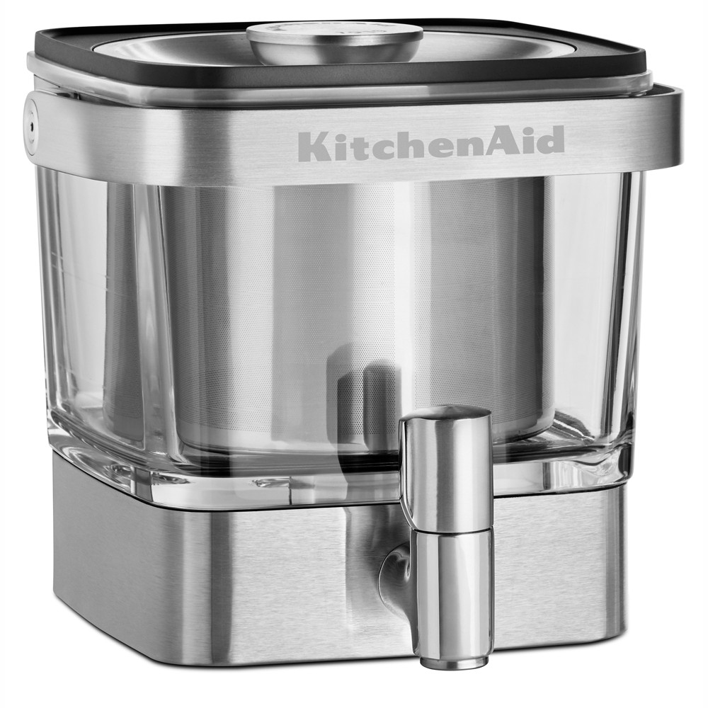 KitchenAid Refurbished Cold Brew Coffee Maker – KCM4212SX, Silver 53413587
