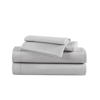 Solid Flannel Sheet Set - Eddie Bauer