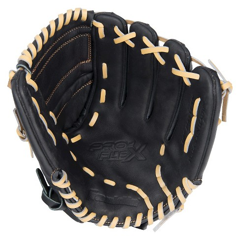 "Franklin Sports ProFlex Hybrid Series 12.0"" Right-Handed Thrower Baseball Glove - Black Camel - image 1 of 2"
