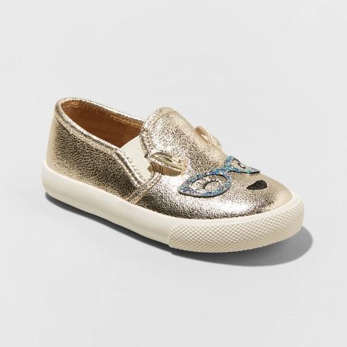 Toddler Girls' Karnani Sneakers - Cat & Jack™ Gold - image 1 of 3