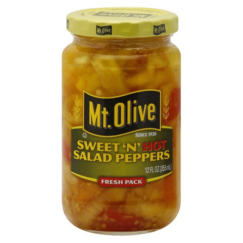 Mt. Olive® Sweet 'N Hot Peppers - 12oz - image 1 of 1