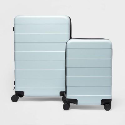 2pc Hardside Luggage Set Muddy Aqua - Made By Design™