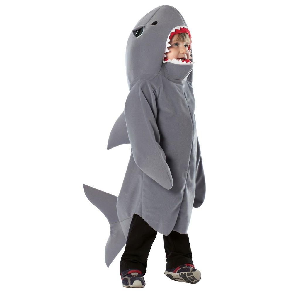 Baby Shark Halloween Costume 18-24 M, Infant Unisex, Size: 18-24M, Gray