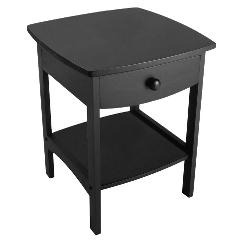 Claire Nightstand - Black - Winsome - image 1 of 3