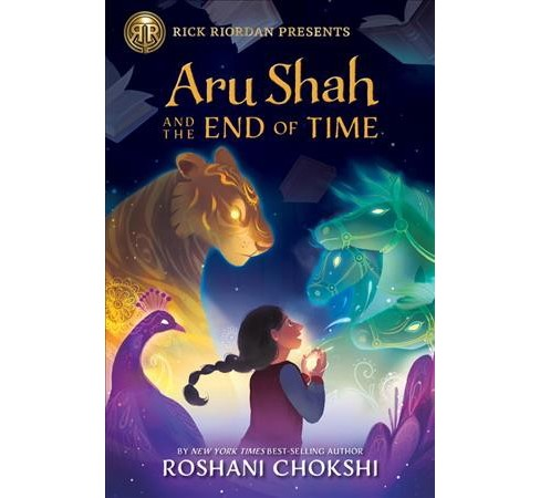 Aru Shah and the End of Time -  (Pandava) by Roshani Chokshi (Hardcover) - image 1 of 1