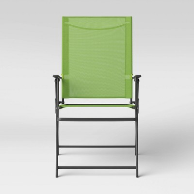 Sling Folding Patio Chair Green - Room Essentials™