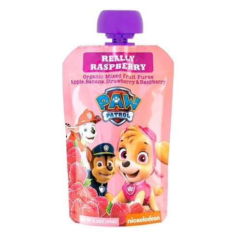 PAW Patrol Really Raspberry Organic Blended Fruit Snack - 3.5oz - image 1 of 2