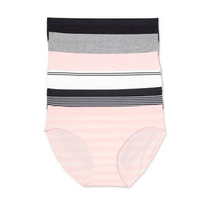Women's Seamless Bikini 6pk - Auden™ Assorted
