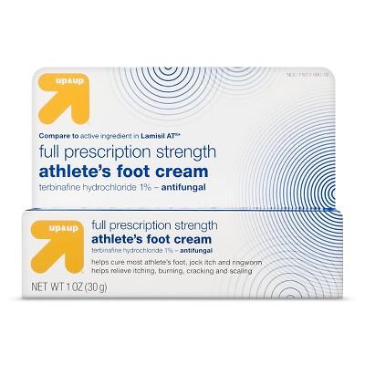Athletes Foot Terbinafine Hydrochloride Antifungal Cream - 1oz - up & up™