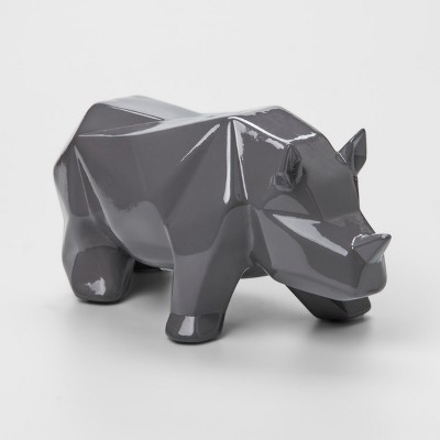 Gray Rino Decorative Coin Bank - Pillowfort™