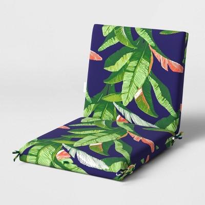 Outdoor Chair Cushion DuraSeason Fabric™ Banana Leaf - Threshold™