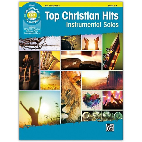 Alfred Top Christian Hits Instrumental Solos Alto Sax Book & CD Level 2--3 - image 1 of 1