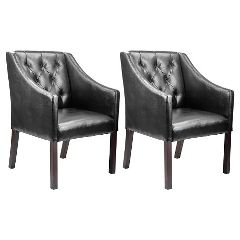 2 Piece Antonio Accent Club Chair - CorLiving - image 1 of 3