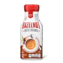Hazelnut Coffee Creamer - 15oz - Market Pantry™
