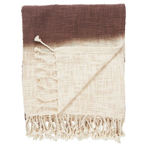 "Brown Bohemian Throw (52""X68"") - Jaipur Living - image 1 of 1"
