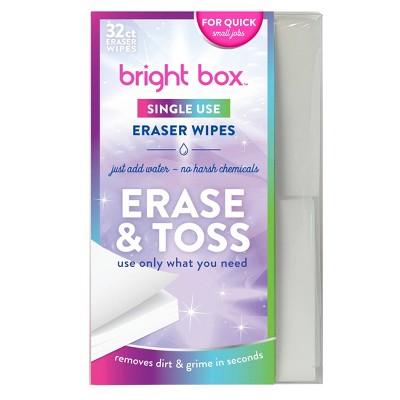 Bright Box Eraser Wipes - 32ct