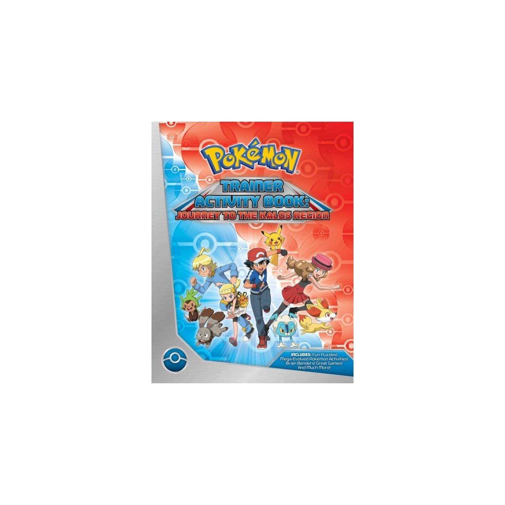 Pokemon Trainer Activity Book : Journey to the Kalos Region (Paperback) (Lawrence Neves)