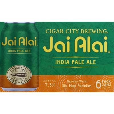 Cigar City Jai Alai IPA Beer - 6pk/12 fl oz Cans