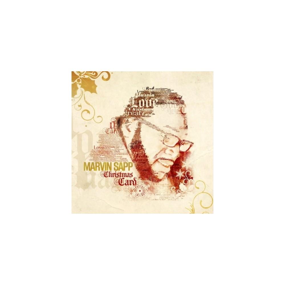 Marvin Sapp - Christmas Card (CD)