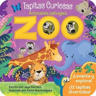 Zoo - by Jaye Garnett (Board Book)